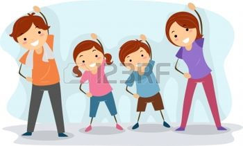 13340415-ilustraci-n-de-un-ejercicio-en-familia-junto